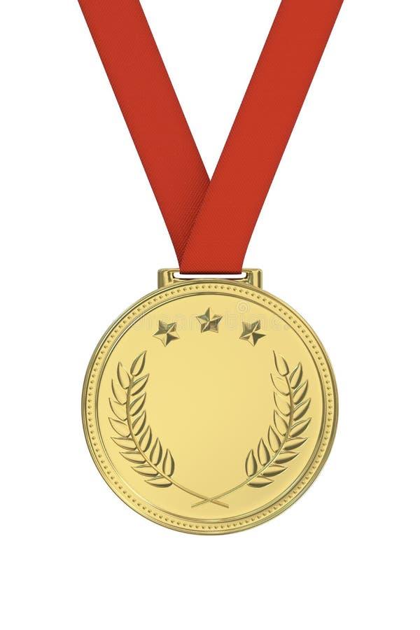 Medaglia d'oro fotografia stock