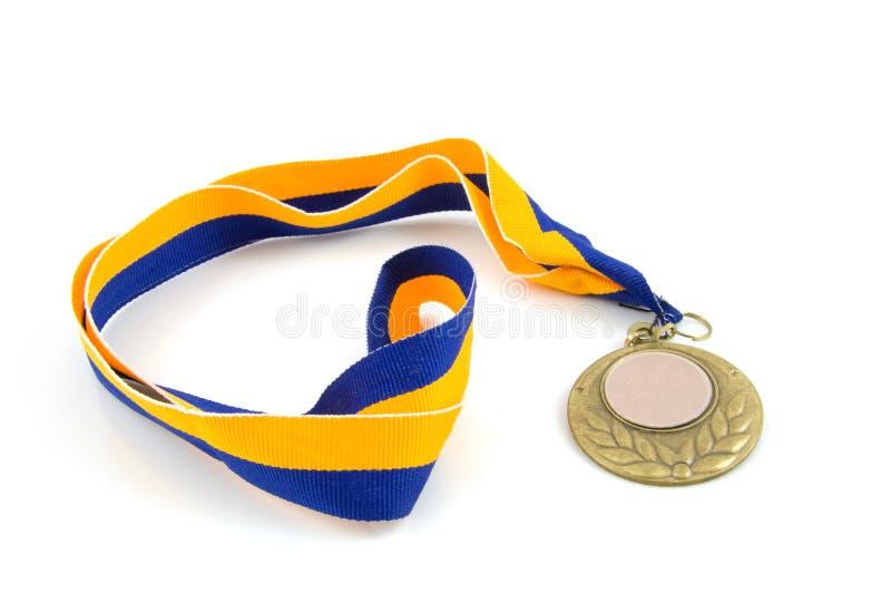 Medaglia di bronzo immagini stock libere da diritti