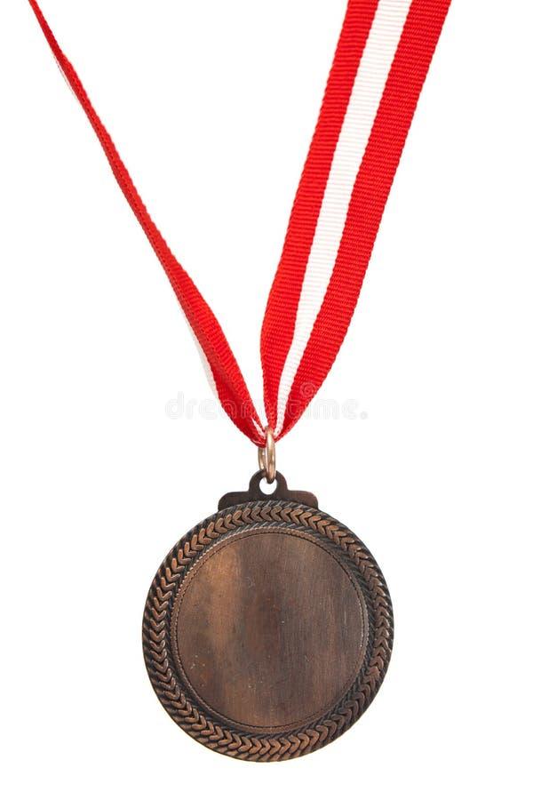 Medaglia di bronzo immagini stock
