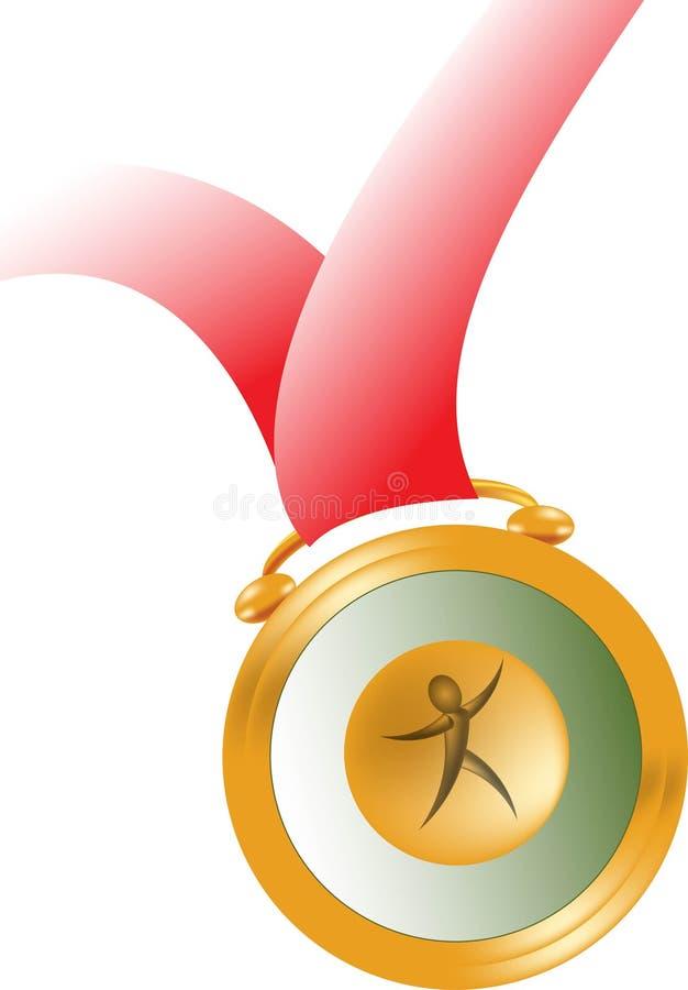 Medaille vector illustratie