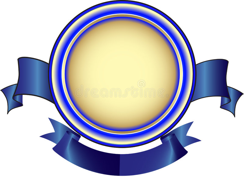 Medaille stock illustratie