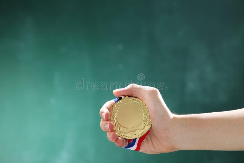 medaille lizenzfreie stockfotografie