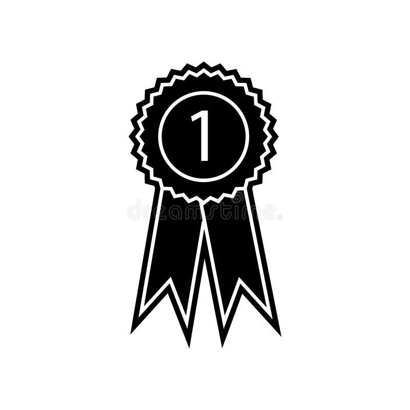 Medaillenikone Element der Bildung f?r bewegliches Konzept und Netz apps Ikone Glyph, flache Ikone f?r Websiteentwurf und Entwick stock abbildung