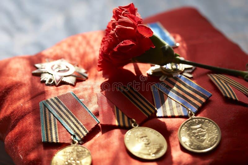 Medailles royalty-vrije stock foto's