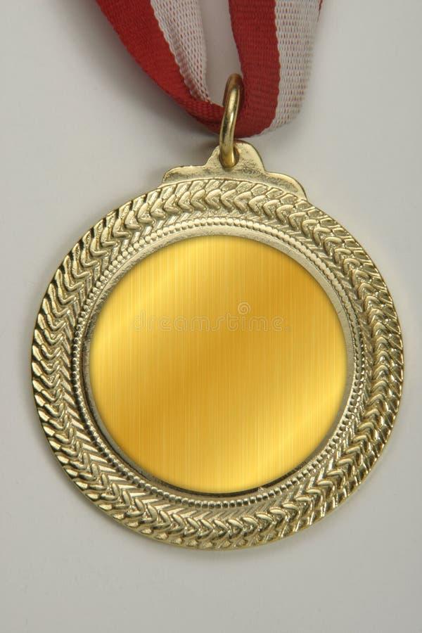 Medaillons die aan deelnemers in competities, sportengebeurtenissen of diverse verwezenlijkingen moeten worden gegeven stock afbeelding