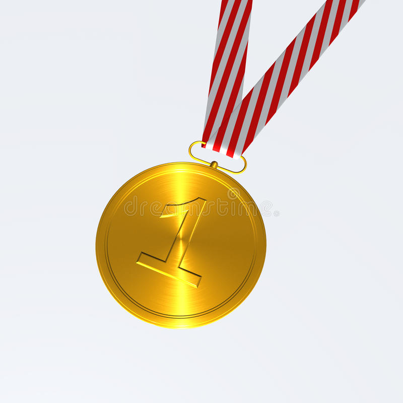 Download Medal stock illustration. Illustration of summit, winners - 12430335