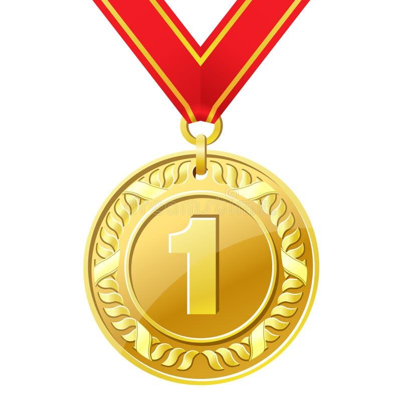 medal ilustracja wektor