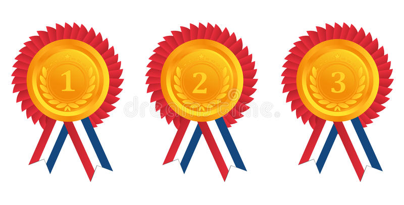 Download Medal stock vector. Illustration of challenge, achievement - 21820410