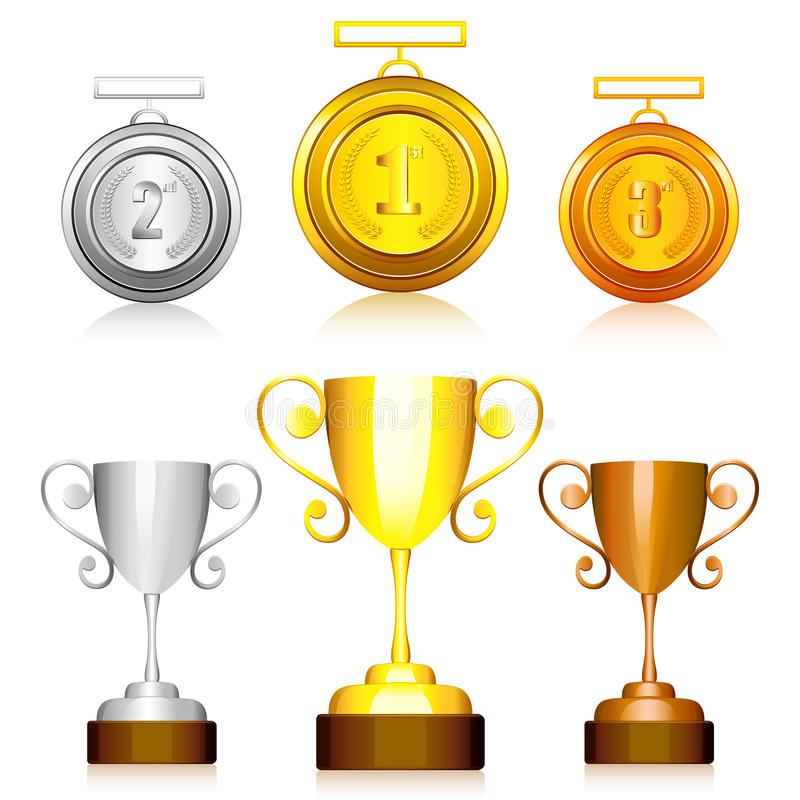 Free Medal And Trophy Stock Photography - 21591522
