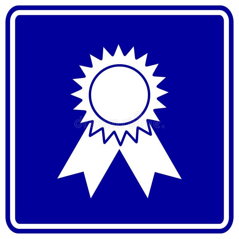 Download Medal award vector sign stock vector. Illustration of signal - 8490137
