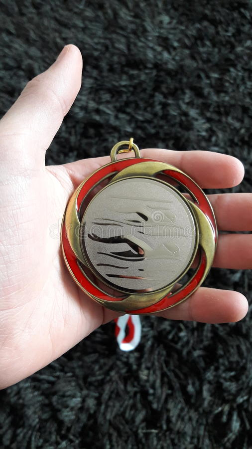 A Medal. royalty free stock images