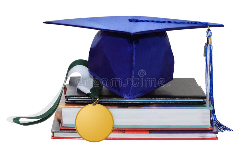 Medal And Cap Royalty Free Stock Photo