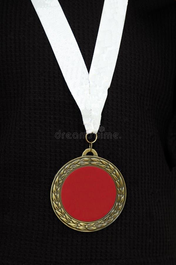 medal czerwony obrazy royalty free