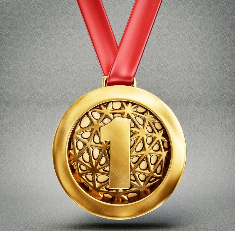 Medal stock illustration