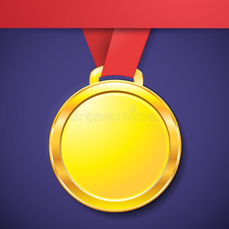 Free Medal Gold Treble Clef App Icon Stock Image - 99015661