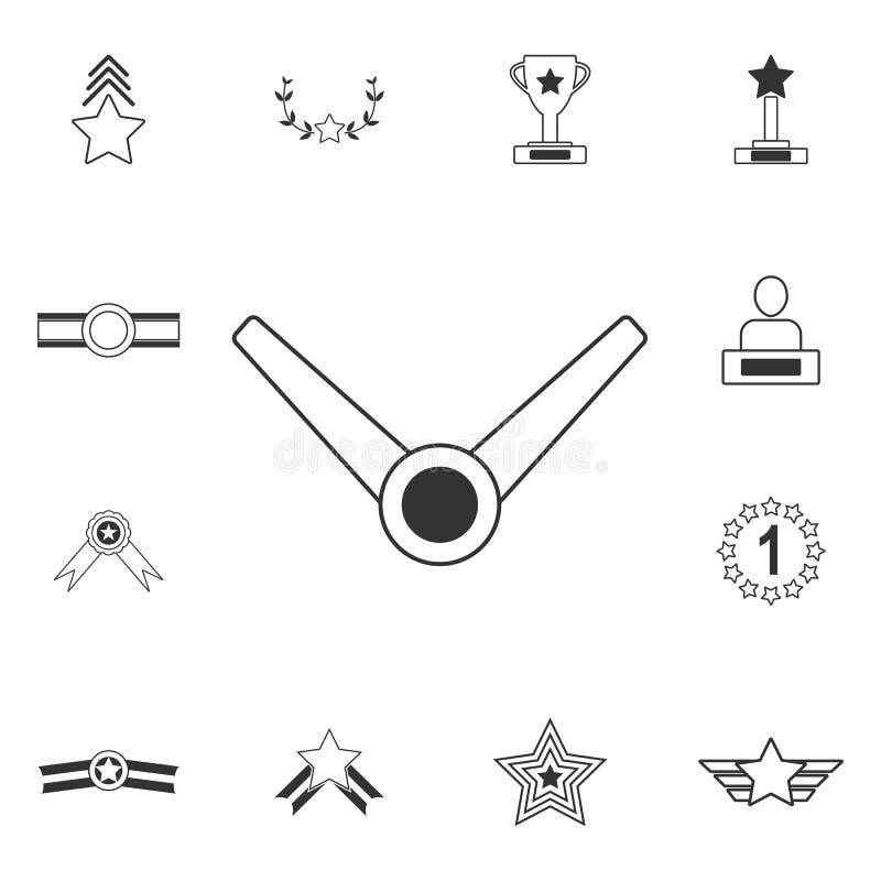 Medal ikona Prosta element ilustracja Medalu symbolu projekt od nagrody kolekci setu Może używać dla sieci i wiszącej ozdoby ilustracja wektor