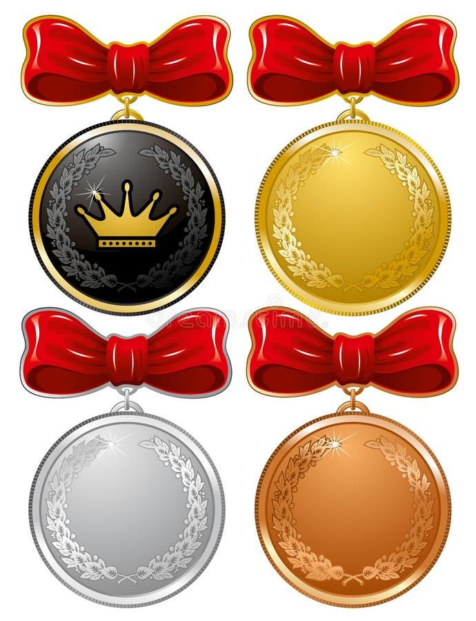 medale royalty ilustracja