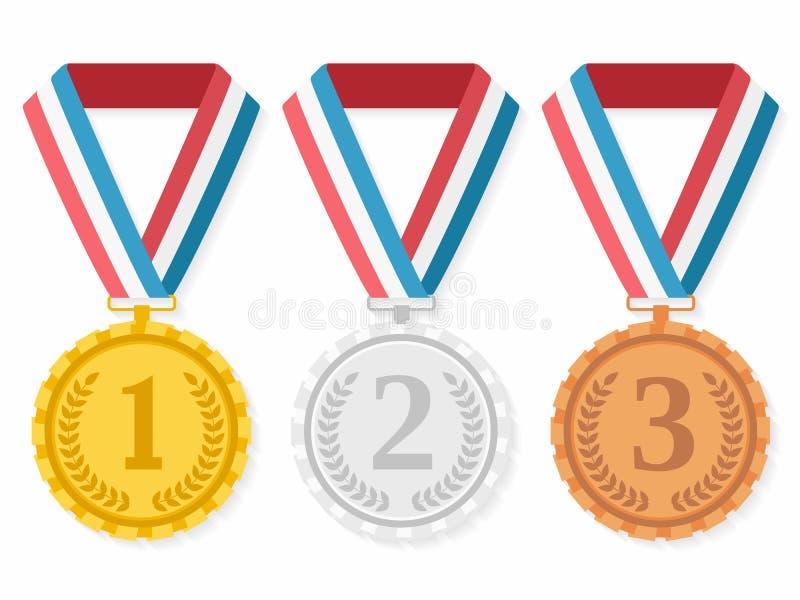medale ilustracji