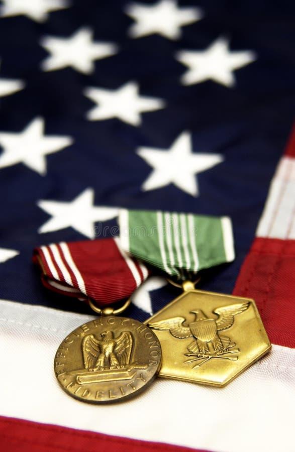 medale militarni zdjęcia stock
