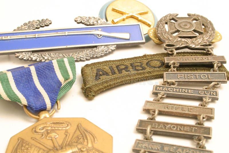 medale wojennych zdjęcie royalty free