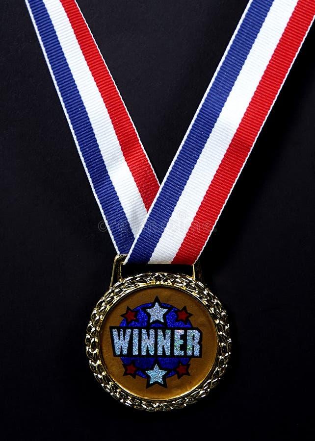 medale zwycięzcę zdjęcie stock