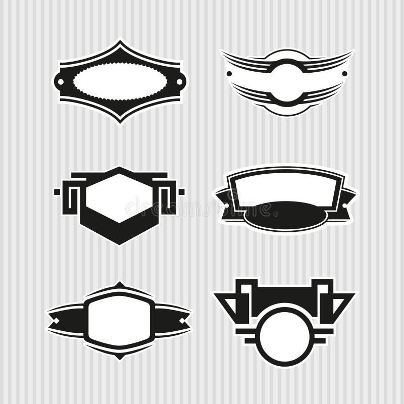 Medalhões 6 ilustração royalty free