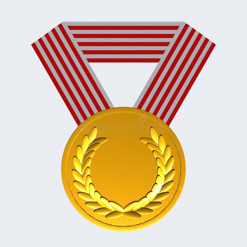 Medalha ilustração stock