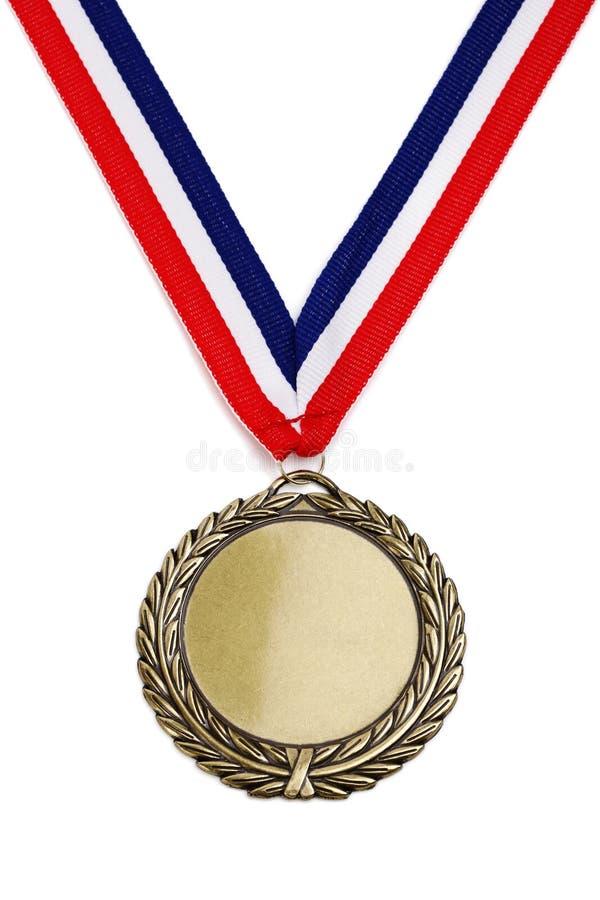 Medalha de ouro olímpico fotos de stock royalty free