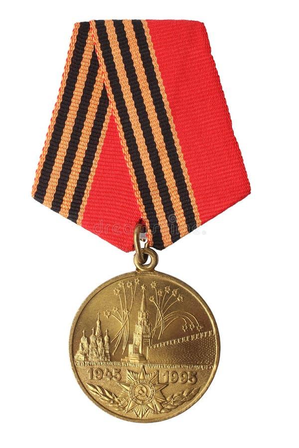 Medalha do jubileu fotos de stock royalty free