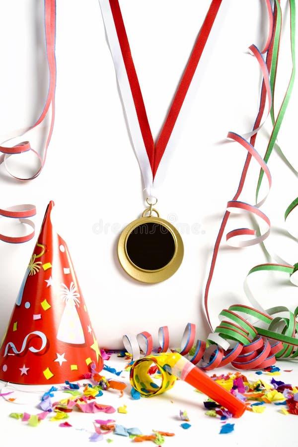 Medalha dourada fotografia de stock