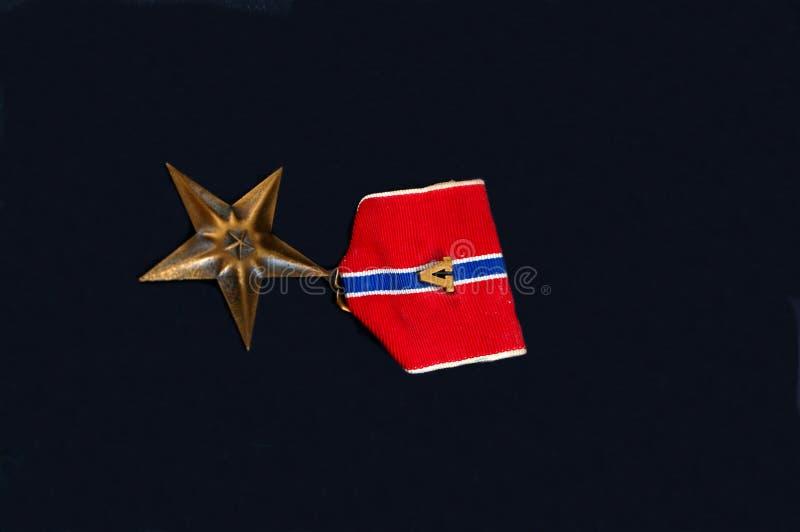 Medalha militar foto de stock