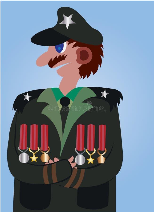 Medalhas de honra ilustração royalty free