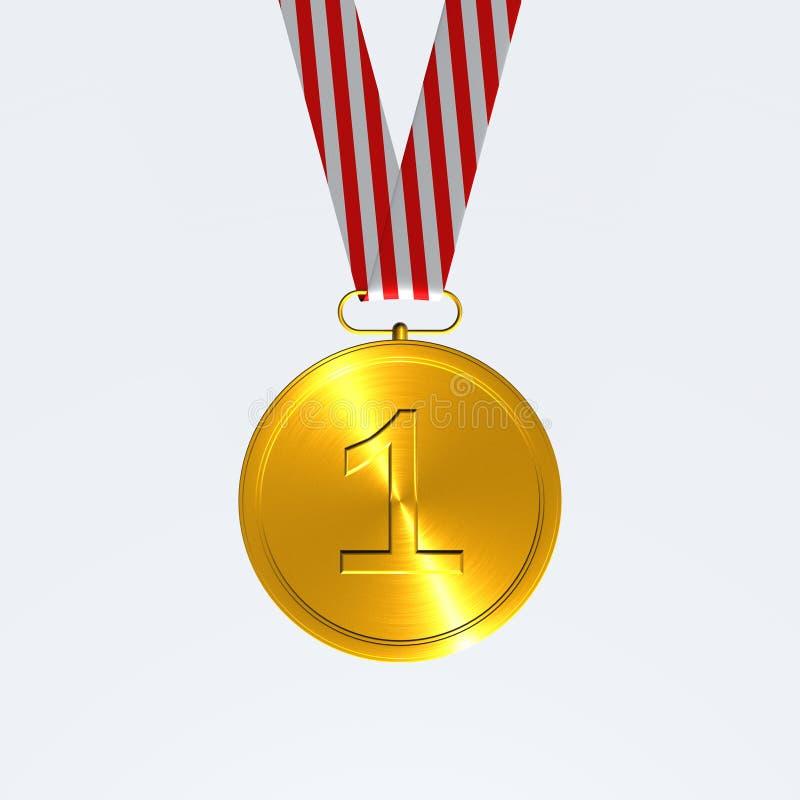 medalj stock illustrationer