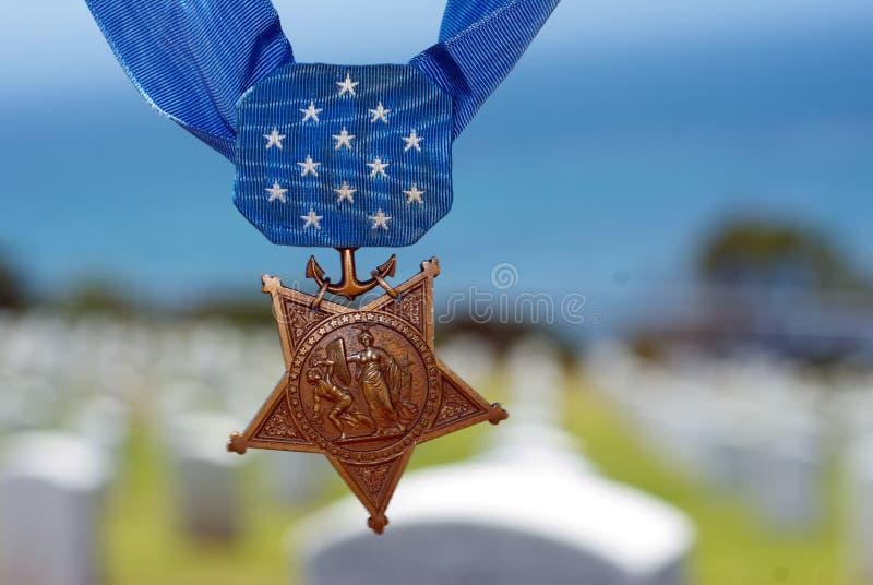 Medalj av heder arkivfoton