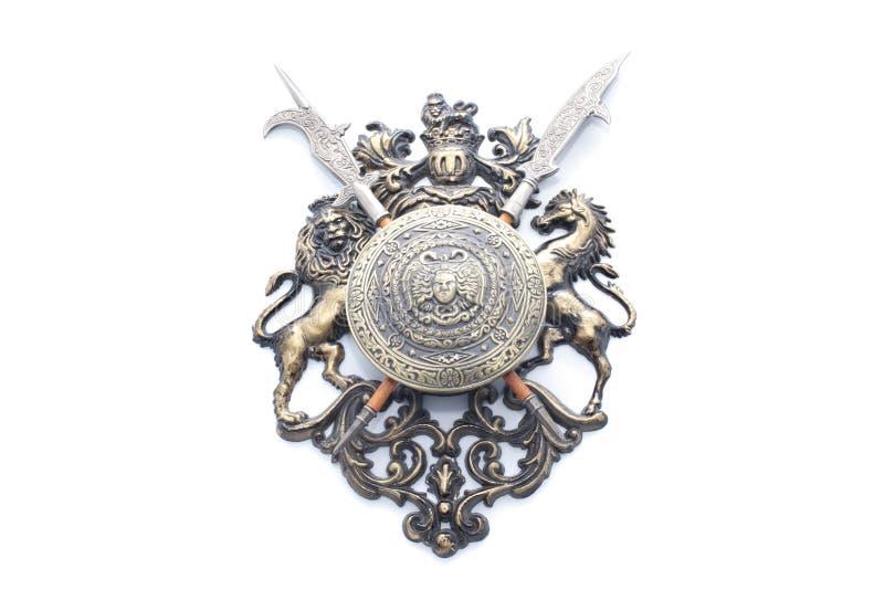 medaljong royaltyfria bilder