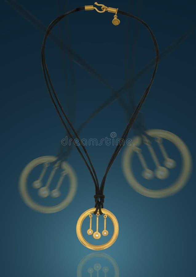 medaljong arkivbild