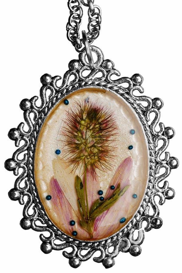 Medaljongen av handwork royaltyfria bilder