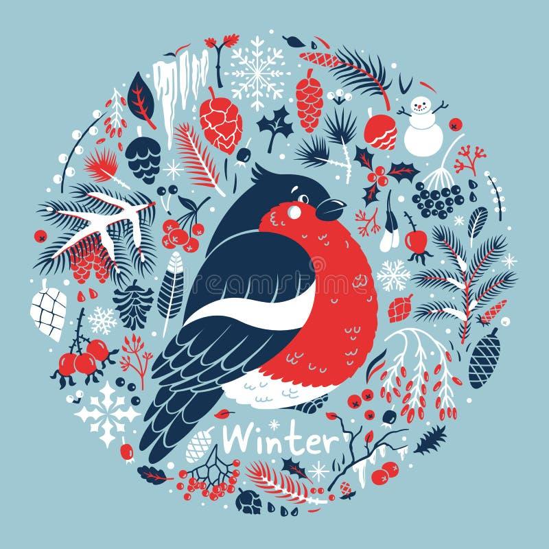 Medallón del invierno libre illustration