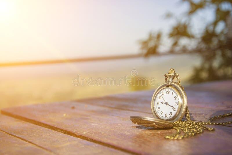 Medallón del reloj imagen de archivo libre de regalías