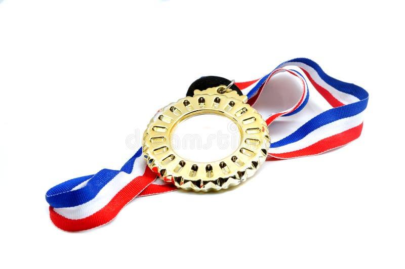 Medalla con la cinta fotografía de archivo