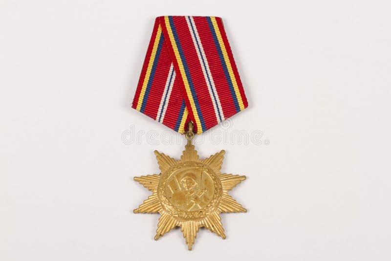 Medalla de honor imágenes de archivo libres de regalías
