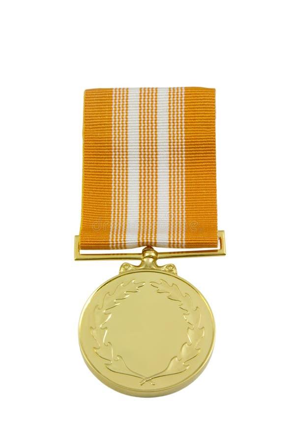 Medalla de la concesión imagenes de archivo