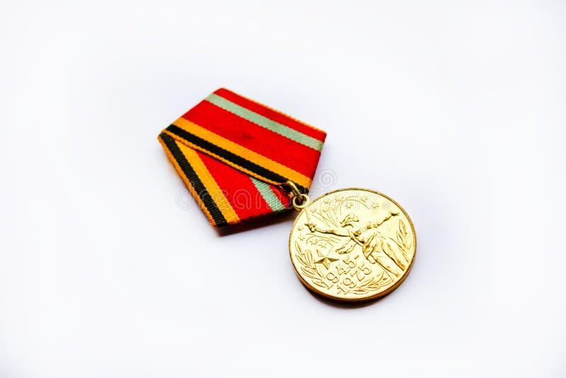 Medalla de la guerra de Unión Soviética imagen de archivo