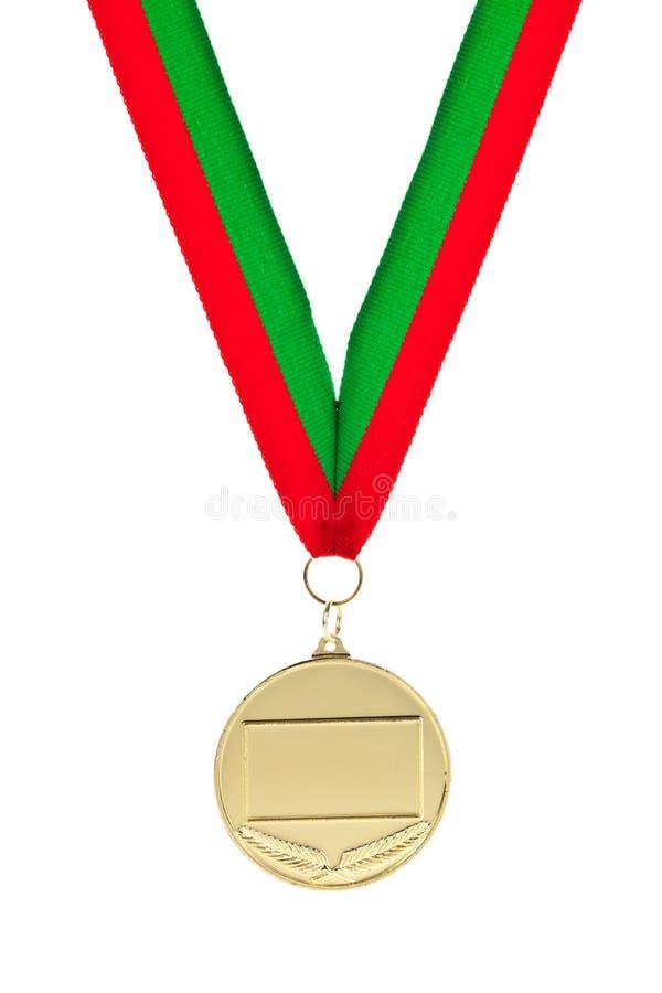 Medalla de oro fotografía de archivo libre de regalías