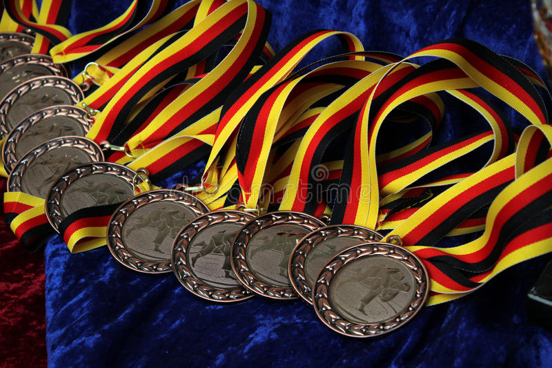 medallas imagen de archivo
