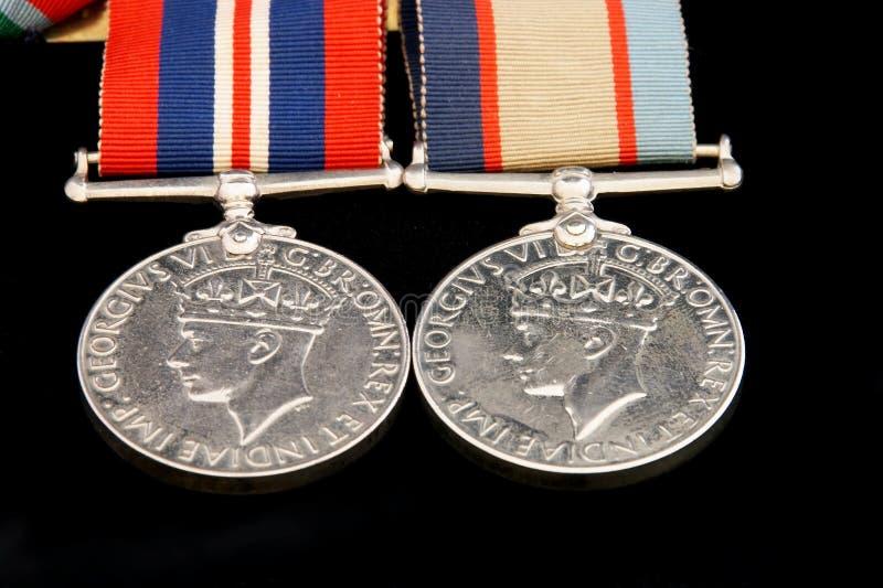 Medallas de la guerra fotos de archivo libres de regalías