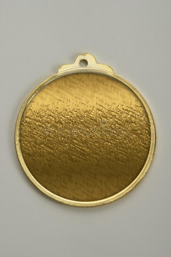 Medallions to be given to participants in competitions, sports events or various achievements. stock photo