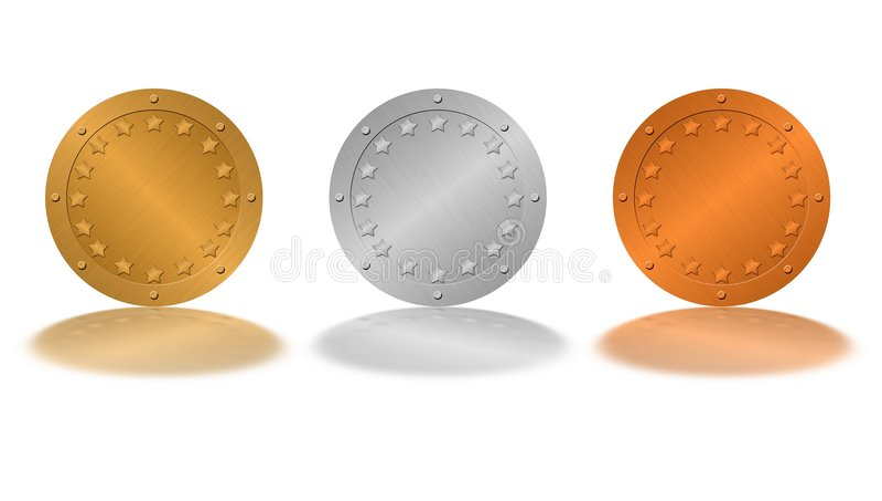 Medals vector illustration