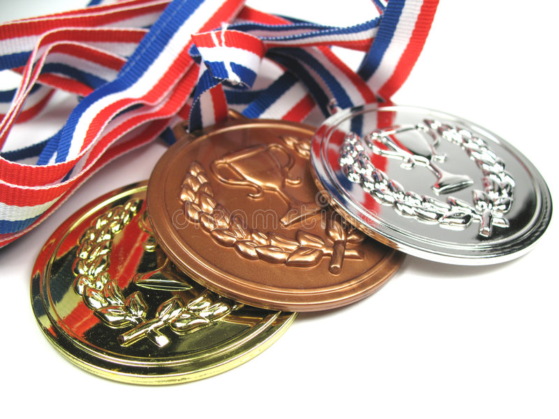 Medals close-up