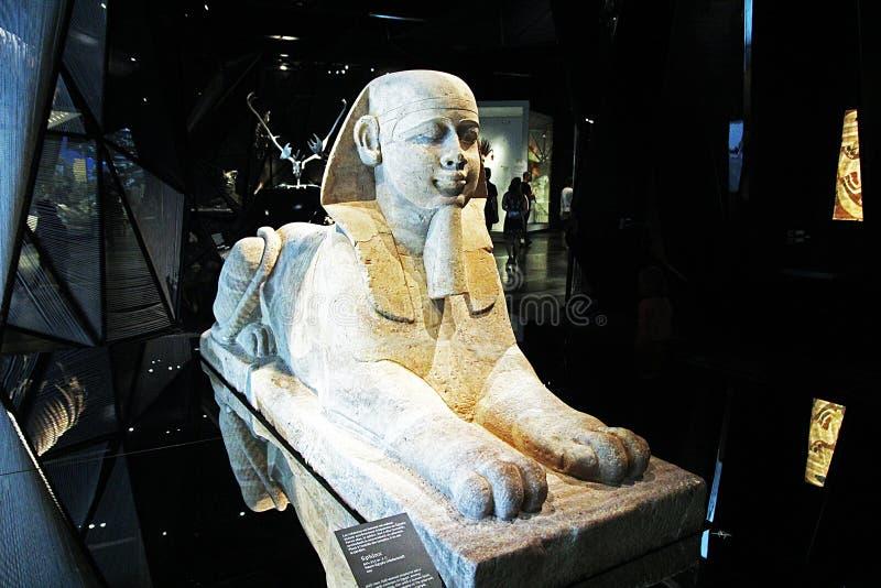 Medamoud-Sphinx lizenzfreie stockbilder